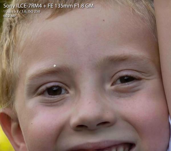 Qualité du piqué sur le Sony Alpha 7R IV