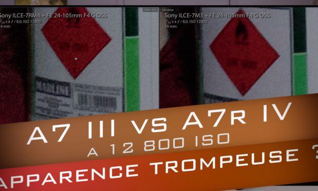 Sony A7 III vs A7R IV : haute résolution et 12 800 ISO, une perte de qualité ?