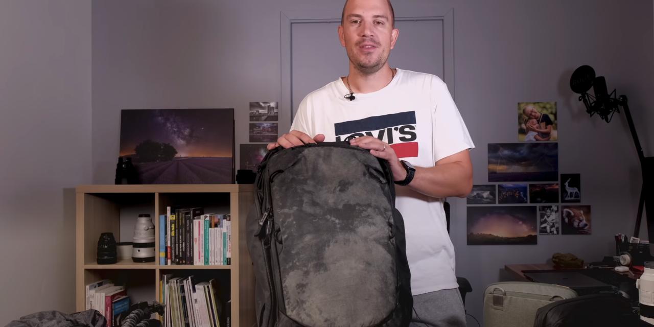 Le sac pour voyager avec hybrides Sony