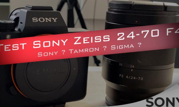 Test rapide du Sony FE 24-70 f4 : Un Objectif de kit