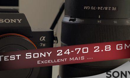 Test rapide du Sony FE 24-70 f2.8 GM : Un objectif presque excellent