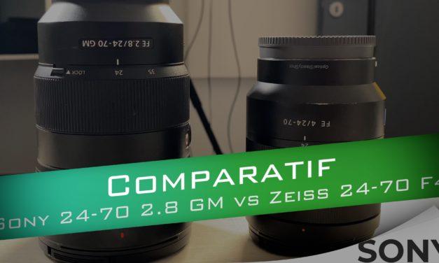 Comparatif Sony FE 24-70 2.8 GM vs Zeiss 24-70 F4 : Juste une différence d'ouverture ?