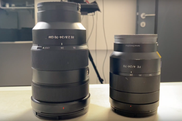 Sony 24-70 f2.8 face au Zeiss 24-70 f4