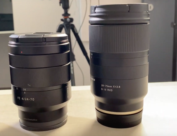 Le Sony FE 24-70mm f4 face à son concurrent