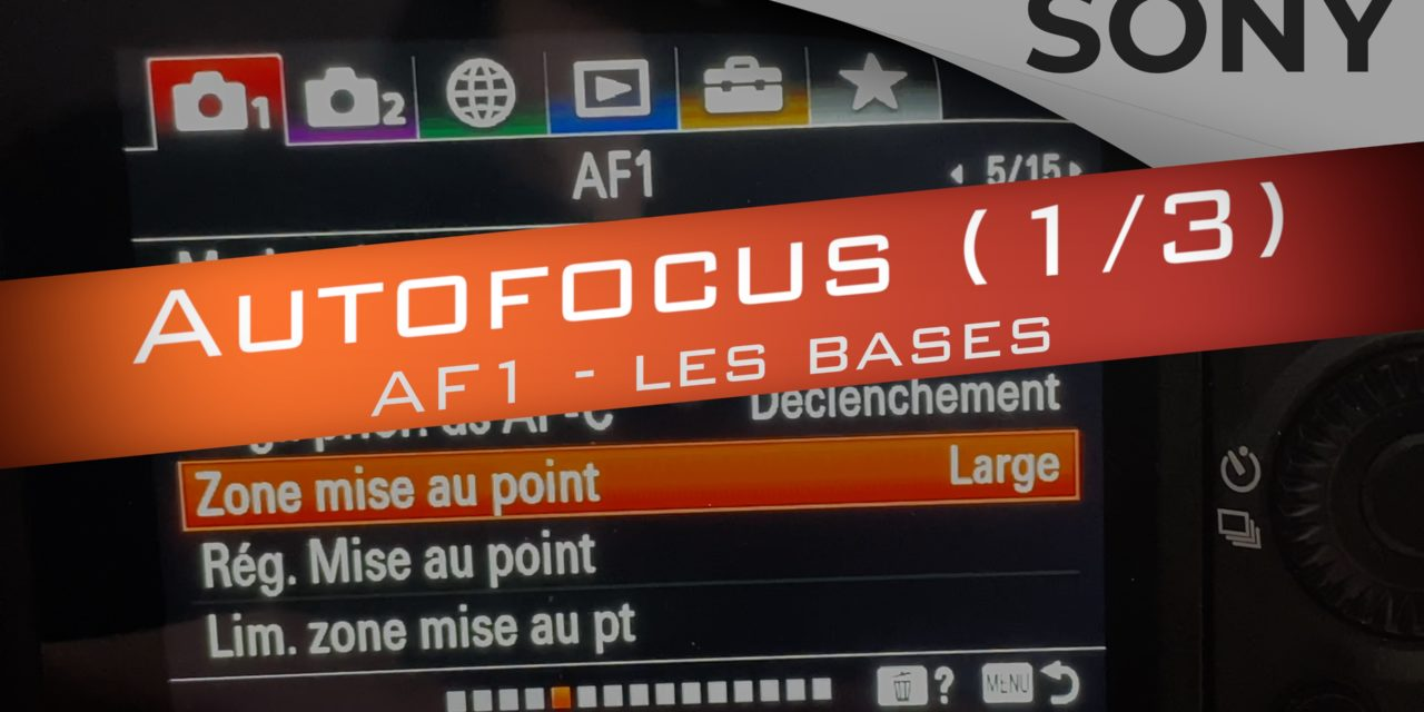 Configurer l'Autofocus Sony : les bases de la mise au point (1/3)