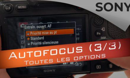 Configuration AF Sony : toutes les options décryptées (3/3)