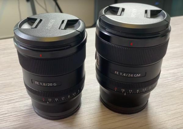 Test du Sony FE 20mm f1.8