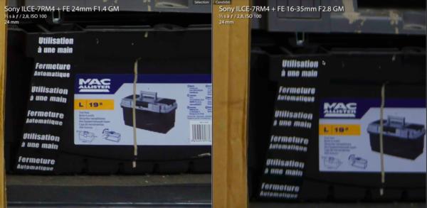 Sony FE 24mm f1.4 GM ou FE 16-35mm