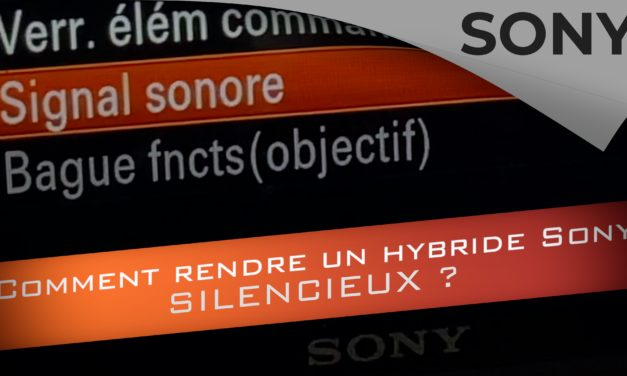 Comment rendre son hybride Sony silencieux ?