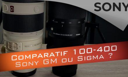 Comparatif Sony 100-400 GM vs Sigma 100-400 : lequel choisir ?