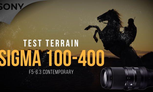 Test Sigma 100-400 F5-6.3 DG DN OS  : Test sur sujet difficile !