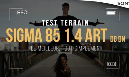 Test Sigma 85 1.4 DG DN ART : Le meilleur pour les portraits !