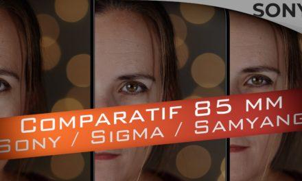 Comparatif 85 1.4 : Sony FE 85 1.4 GM ou Sigma 85 1.4 ART ou Samyang 85 1.4 AF, qui est le meilleur ?