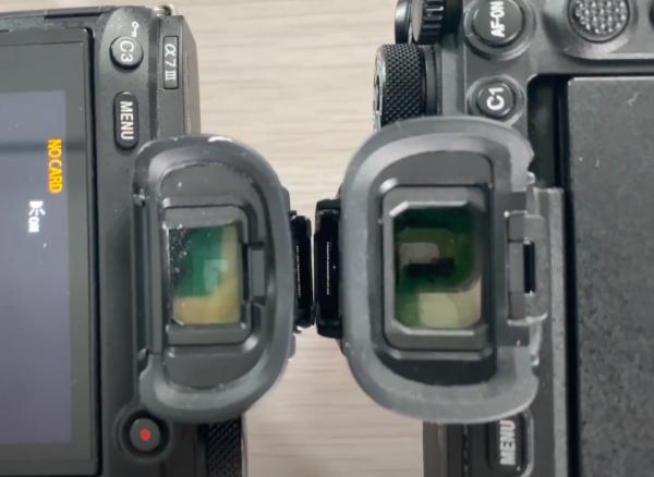 Le viseur du Sony A7SIII