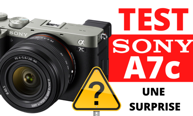 Test Sony A7c : Une surprise pour moi !
