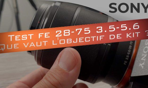 Test Sony FE 28-70 3.5-5.6 : Que vaut l'objectif de kit ?