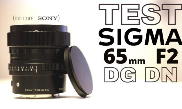 Test Sigma 65mm f2 DG DN Contemporary : une merveille !