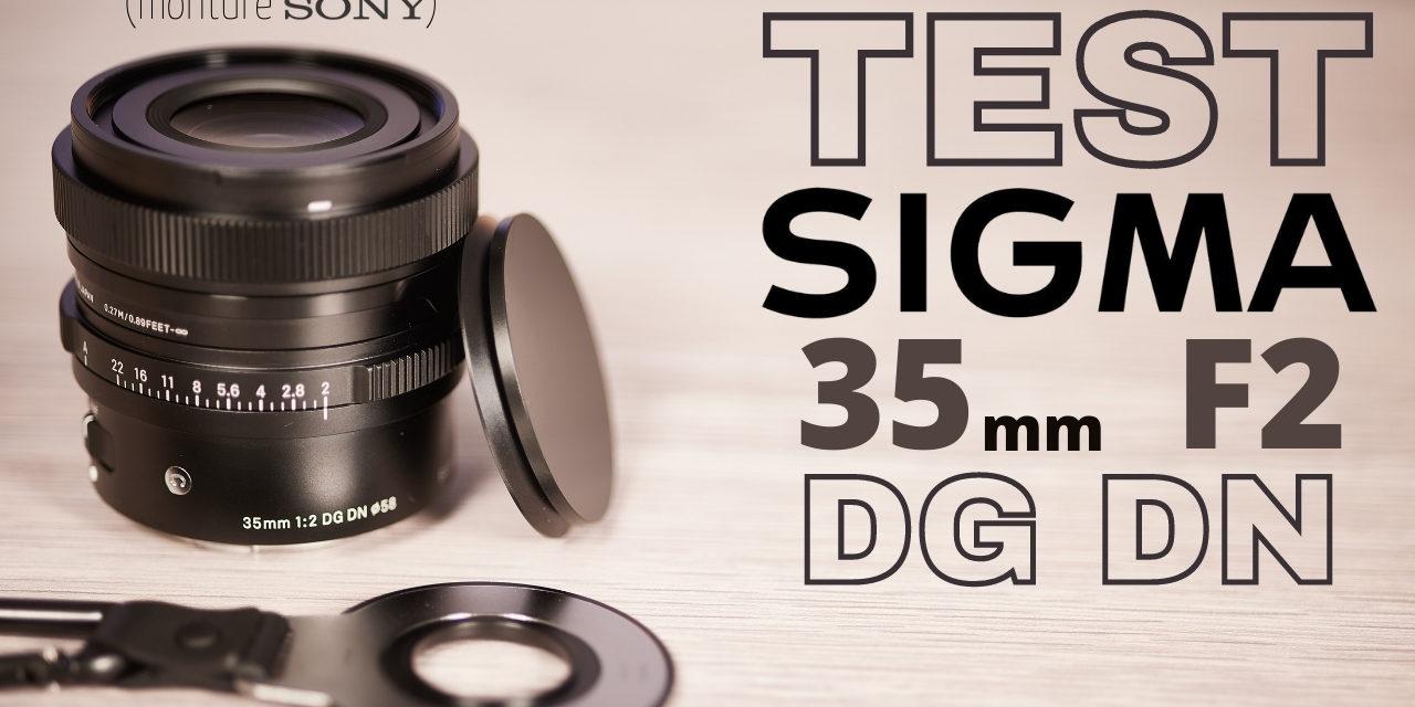 Test Sigma 35mm F2 DG DN Contemporary : la nouvelle référence ?