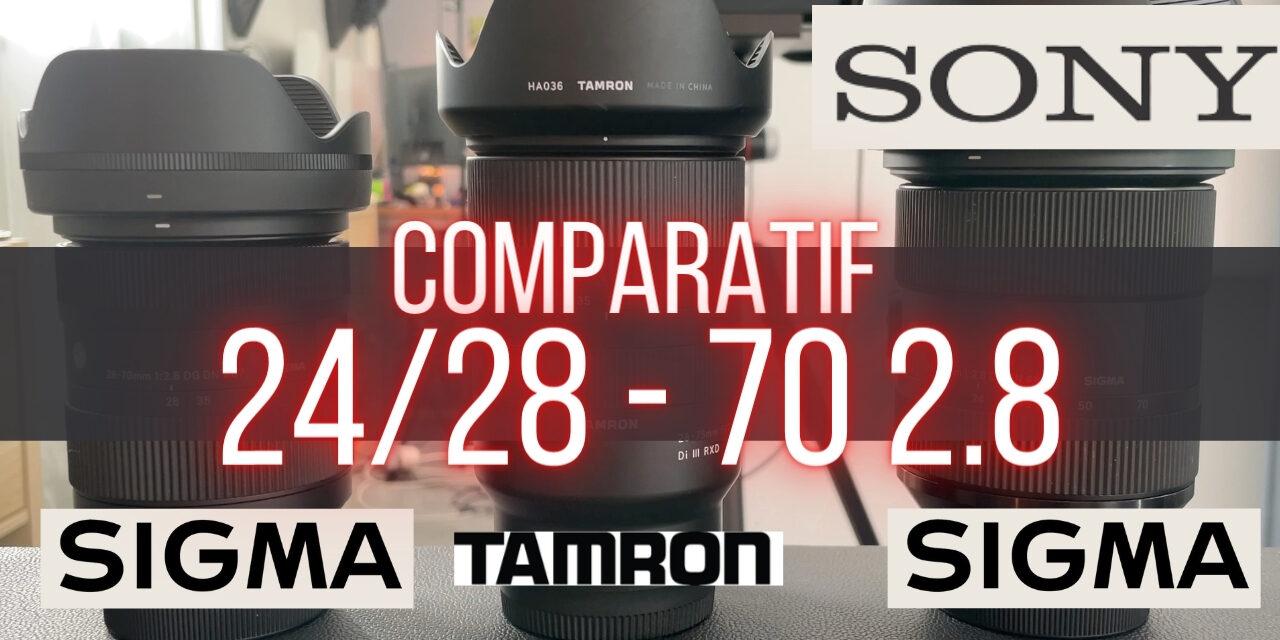 Comparatif Sigma 28-70 2.8 vs Tamron 28-75 2.8 : Le dilemme !