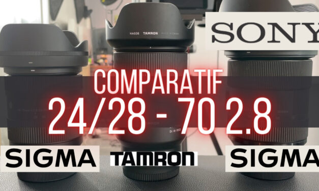 Comparatif Sigma 28-70 2.8 vs Tamron 28-75 2.8 : Le dilemme !