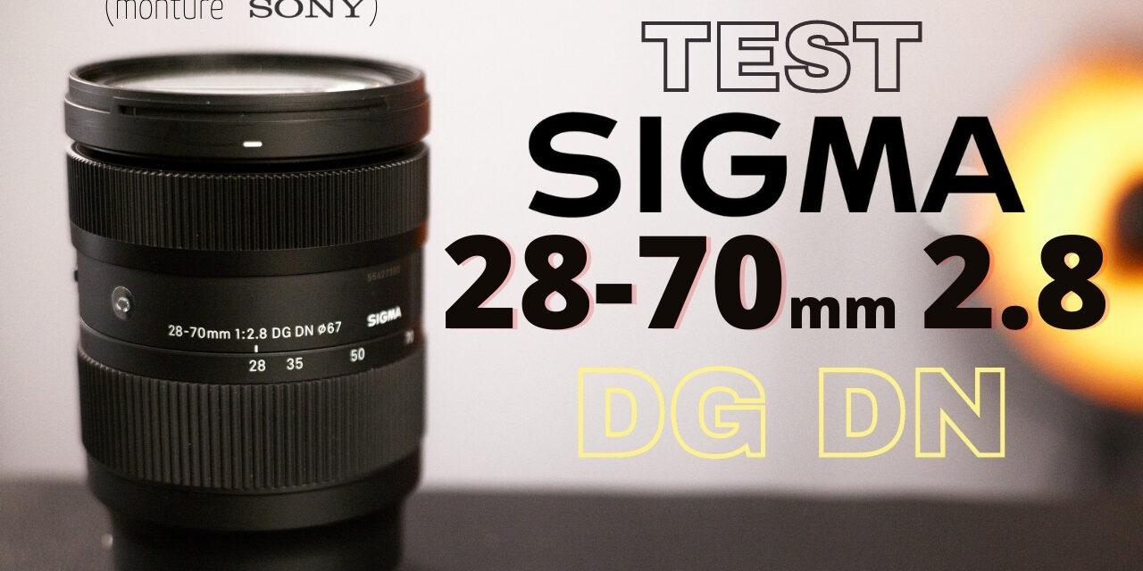 Test Sigma 28-70 mm F2.8 DG DN : capable de remplacer un 24-70 mm ?