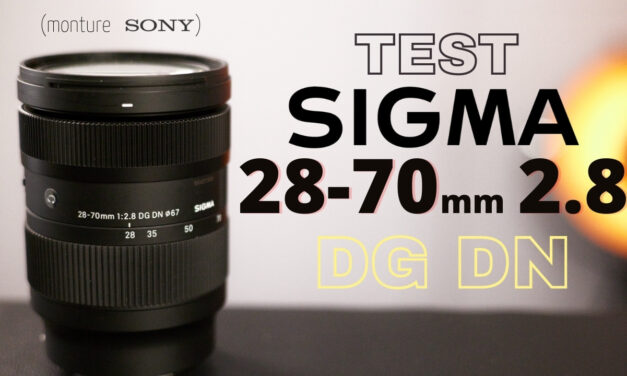 Test Sigma 28-70 mm F2.8 DG DN : capable de remplacer un 24-70 mm ?