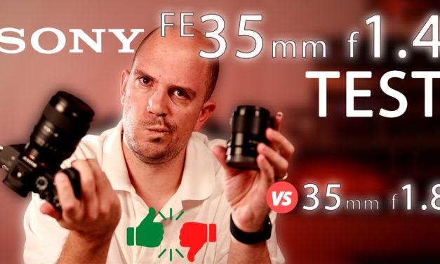 Test Sony FE 35mm f1.4 GM et comparatif avec le FE 35mm f1.8