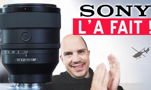 Test Sony 50mm 1.2 GM : le MEILLEUR pour les portraits ?
