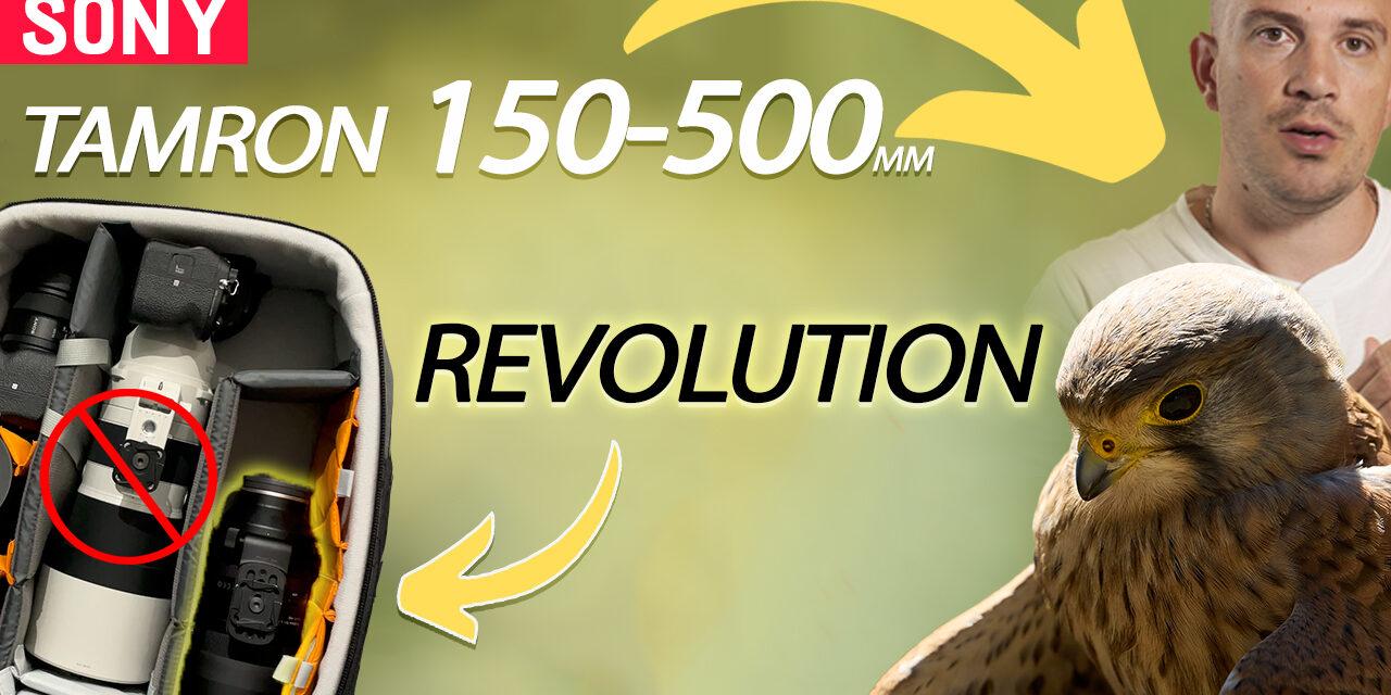 Test Tamron 150-500mm f5-6.7 Di III VC VXD : une révolution dans le sac Sony ?