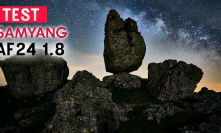 Test Samyang AF 24mm f1.8 pour Sony : un objectif innovant pour l'astro et le paysage