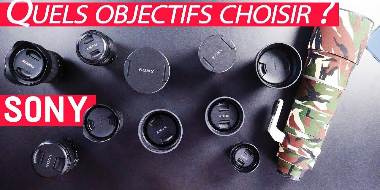 Les meilleurs objectifs  Sony : mon guide d'achat (portrait, paysage, macro, astro…)