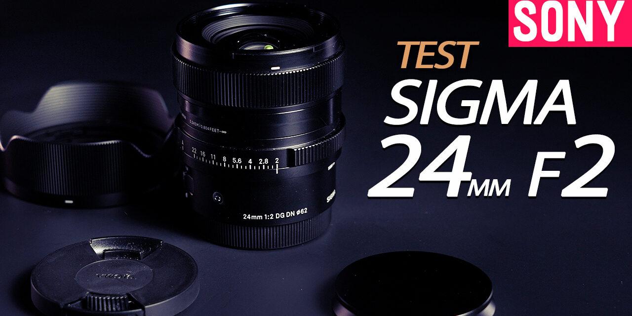 Test Sigma 24mm f2 DG DN : lumineux et polyvalent