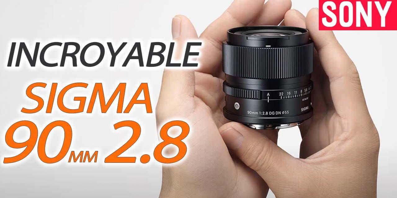 Test Sigma 90mm f2.8 DG DN I-SERIES : un objectif minuscule !